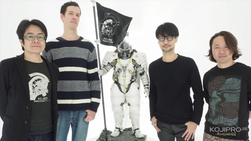 Kenji Yano, James Vance, Ludens, Hideo Kojima et Yoji Shinkawa