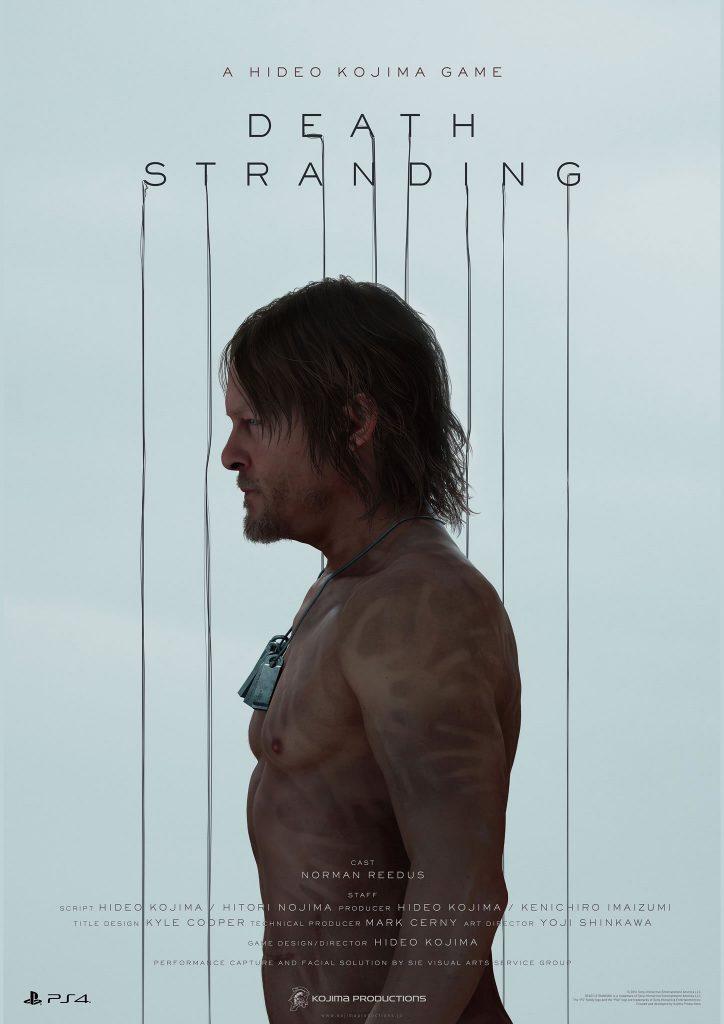 Affiche de Death Stranding (Norman Reedus) - E3 2016