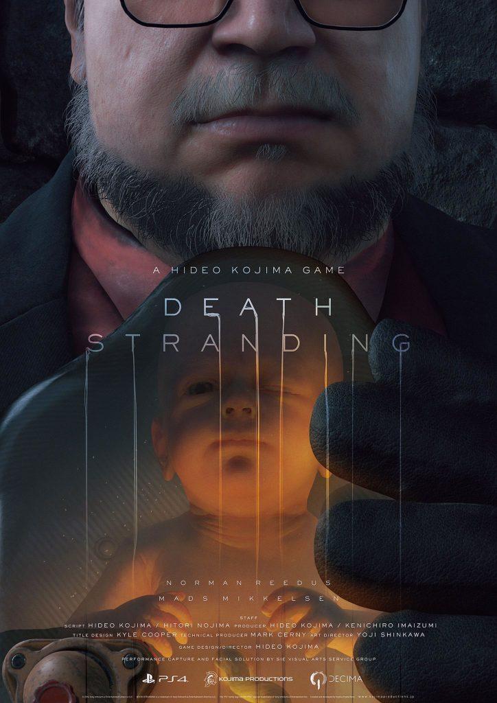 Affiche de Death Stranding (Guillermo del Toro) - The Game Awards 2016