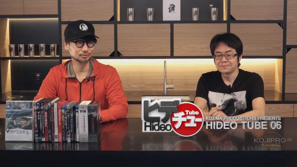 Hideo Kojima avec sa casquette de Stefanie Joosten et Kenji Yano - HideoTube #6