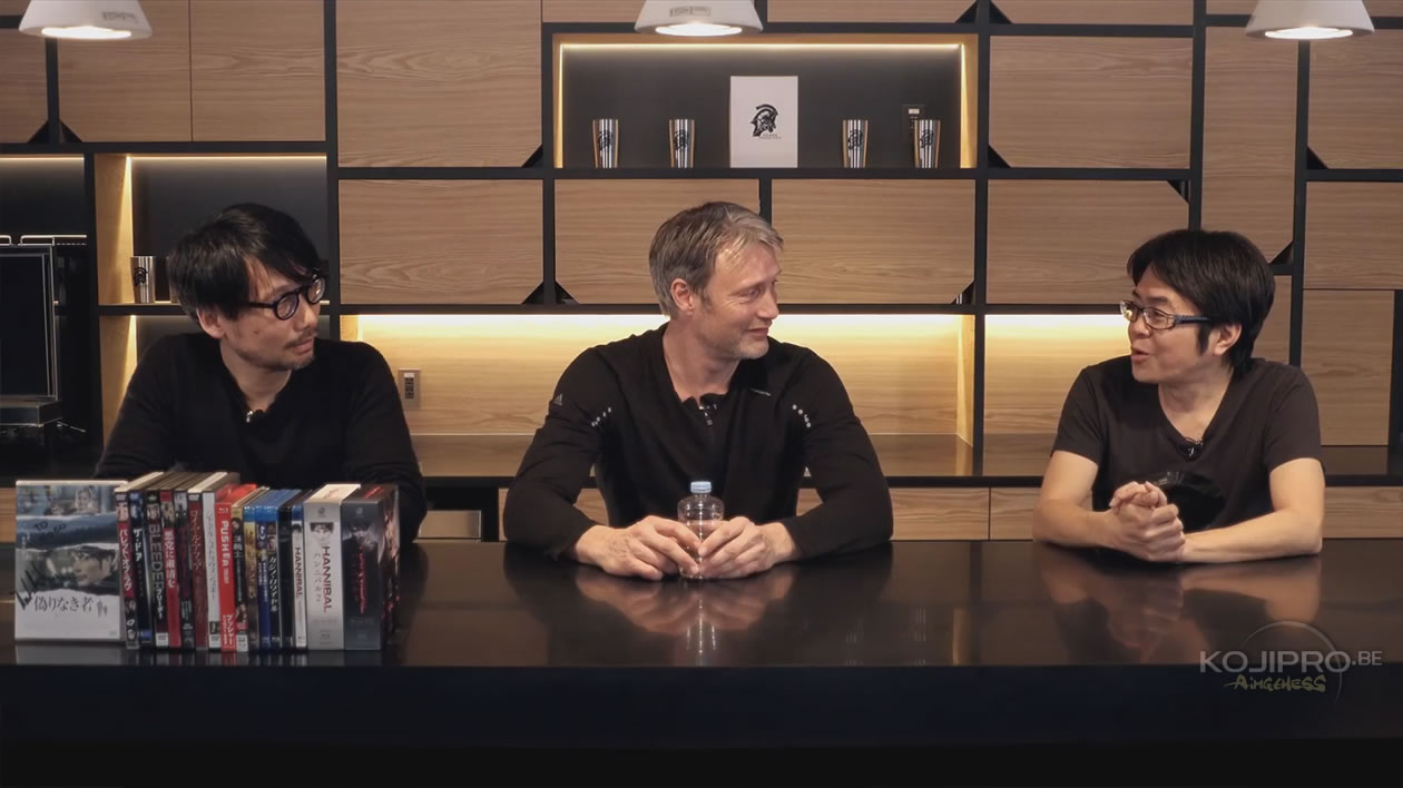 Hideo Kojima, Mads Mikkelsen et Kenji Yano – HideoTube #6
