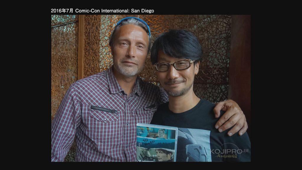 Mads Mikkelsen et Hideo Kojima au Comic-Con de San Diego – Juillet 2016
