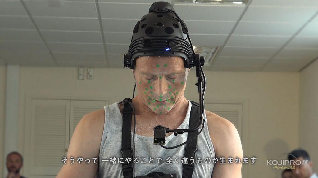 Mads Mikkelsen en studio 3D scanning pour Death Stranding – Août 2016