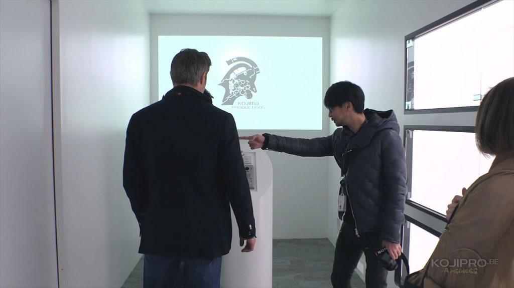 Mads Mikkelsen et Hideo Kojima - Janvier 2017