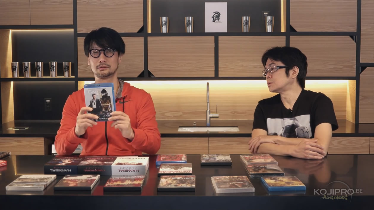 Hideo Kojima et Kenji Yano – HideoTube #6   « Casino Royale » (2006)