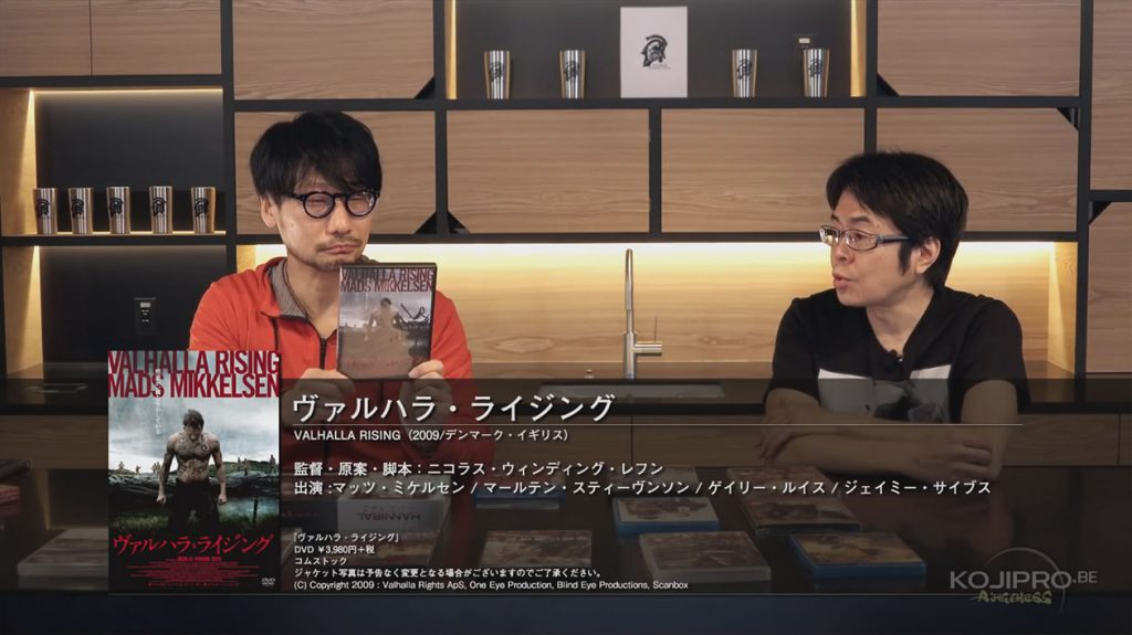 Hideo Kojima et Kenji Yano - HideoTube #6 | « Valhalla Rising » (2009)