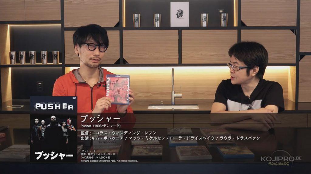 Hideo Kojima et Kenji Yano - HideoTube #6 | « Pusher » (1996)