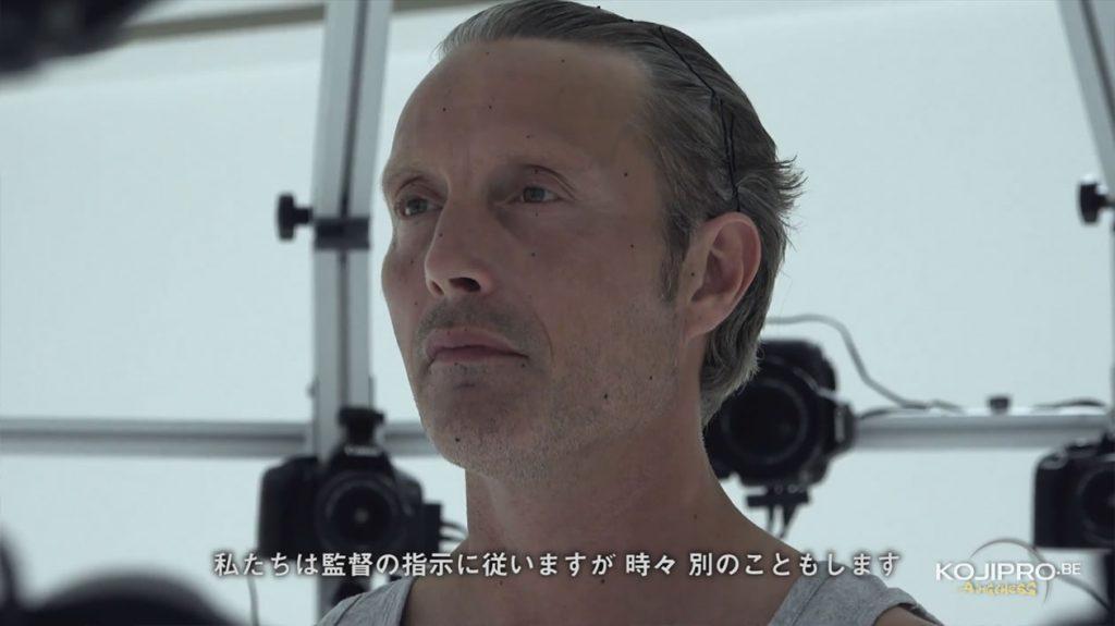 Mads Mikkelsen en séance capture 3D pour Death Stranding – Août 2016