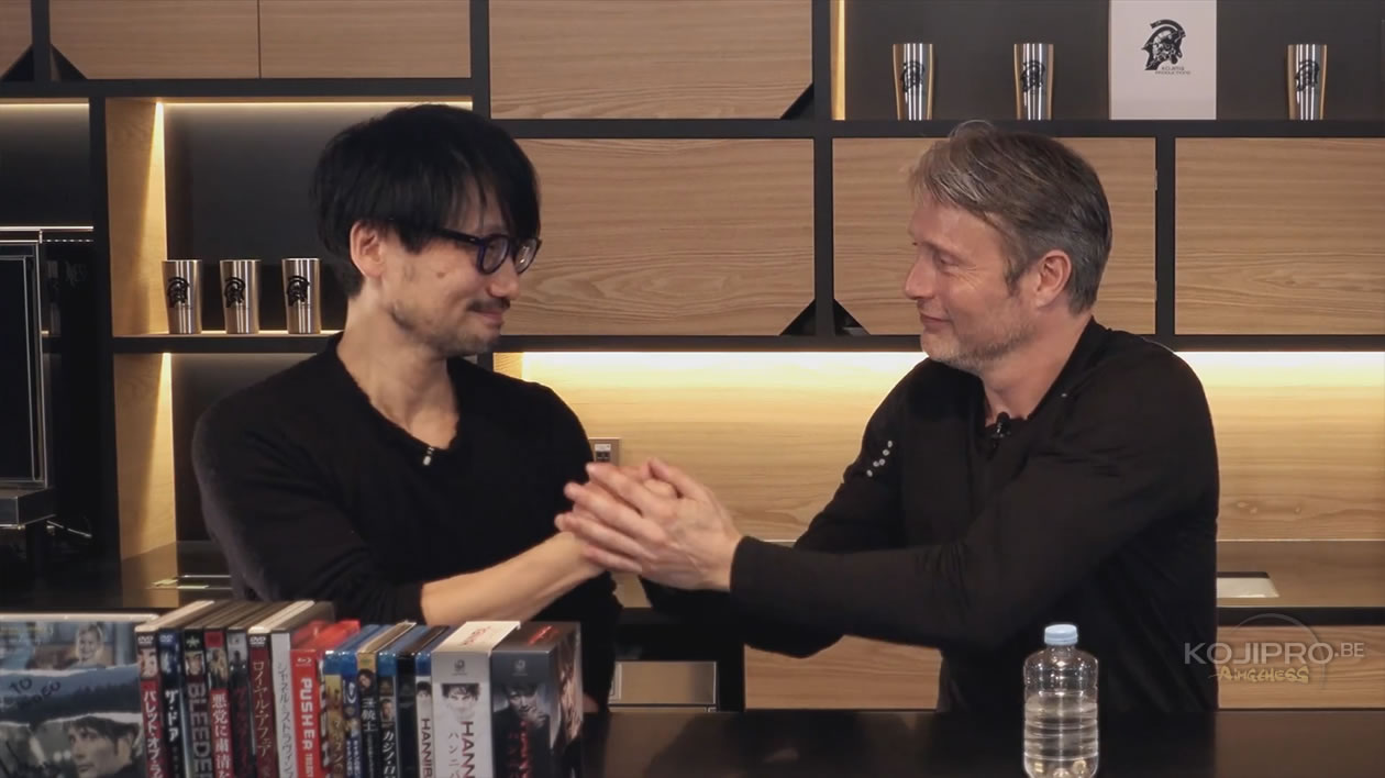 Hideo Kojima et Mads Mikkelsen – HideoTube #6