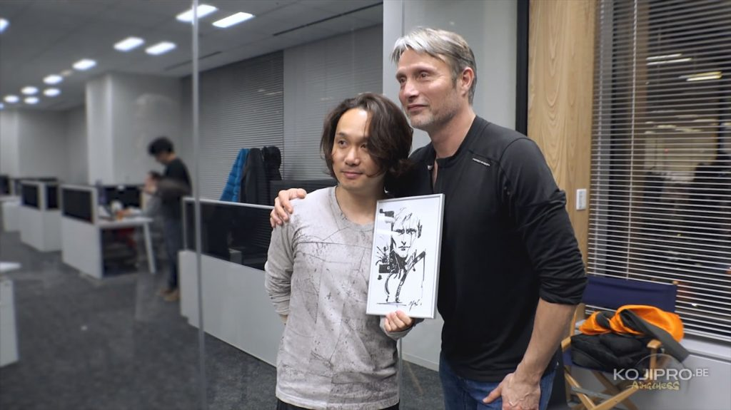Yoji Shinkawa et Mads Mikkelsen, le 25 janvier 2017
