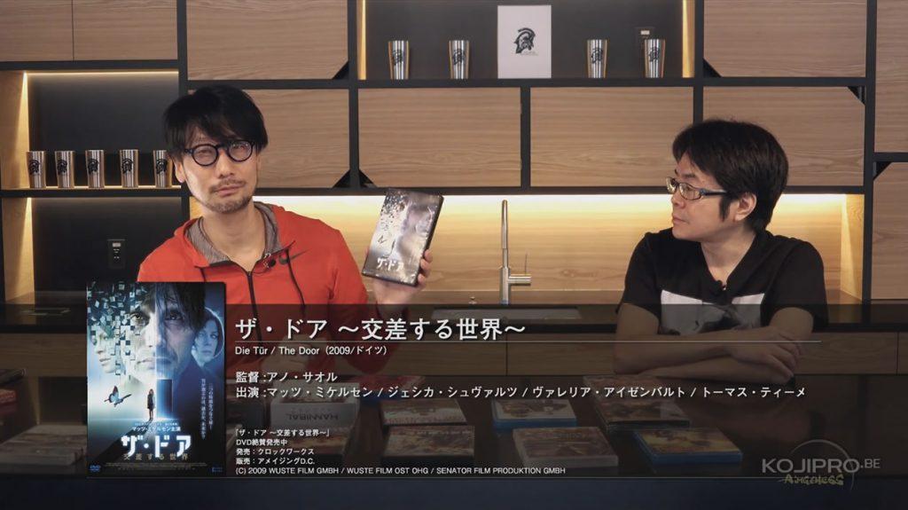 Hideo Kojima et Kenji Yano - HideoTube #6 | « The Door » (2009)
