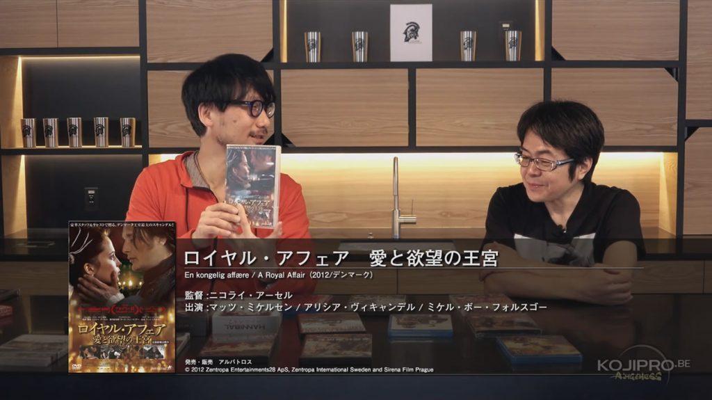 Hideo Kojima et Kenji Yano - HideoTube #6 | « Royal Affair » (2012)