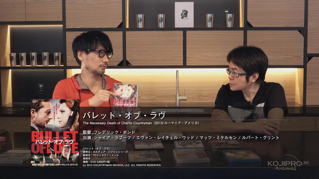 Hideo Kojima et Kenji Yano – HideoTube #6 | « Bullet of Love » (2013)