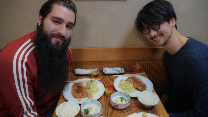 Jordan Vogt-Roberts et Hideo Kojima, le 10 février 2017