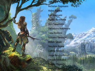Horizon Zero Dawn allonge la liste connue des membres de Kojima Productions
