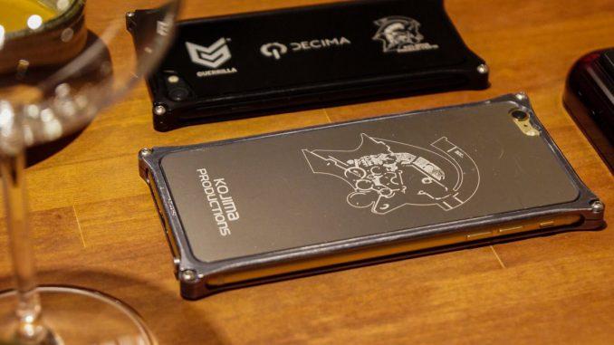Cadeau de Kojima Productions pour Hermen Hulst : une coque iPhone Guerrilla Games / Decima / Kojima Productions, le 29 mars 2017