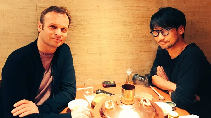 Hermen Hulst et Hideo Kojima, le 29 mars 2017