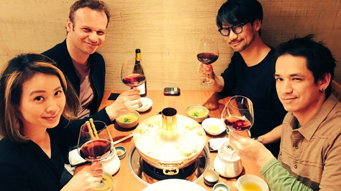 Ayako Terashima, Hermen Hulst, Hideo Kojima et Ken Mendoza, le 29 mars 2017