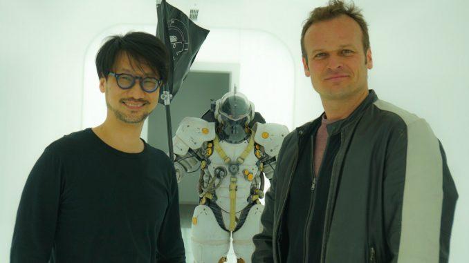 Hideo Kojima et Hermen Hulst chez Kojima Productions, le 29 mars 2017