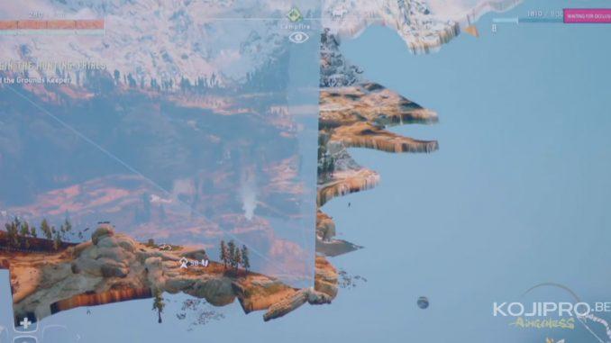 Le making of de Horizon Zero Dawn - Le mouvement de caméra et le rendu paysage