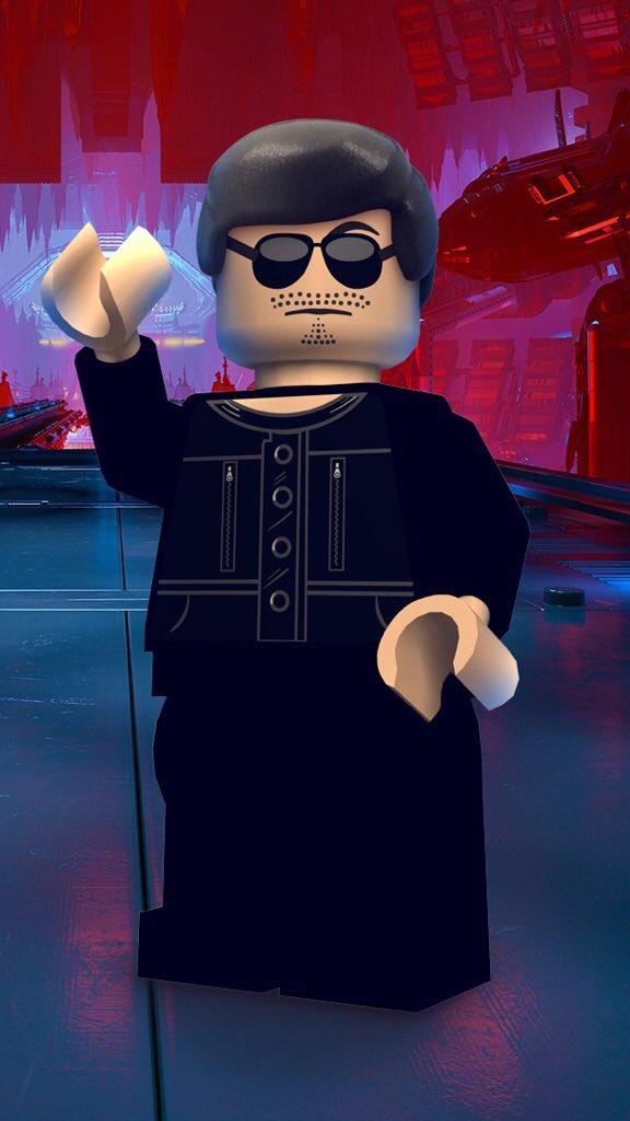 Hideo Kojima à nouveau immortalisé en personnage Lego le 3 avril 2017