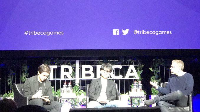 Hideo Kojima à New York pour le Tribeca Games Festival, le 29 avril 2017
