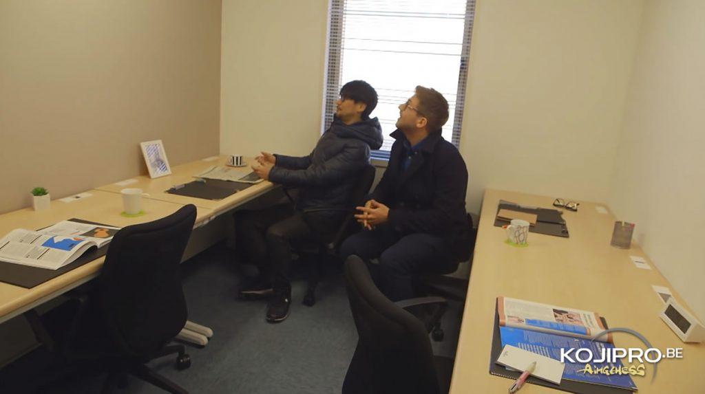 Premier bureau de Kojima Productions en décembre 2015