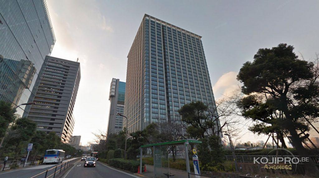 Le 23 mai 2016, le nouveau studio de Kojima Productions déménage dans ce building de Shinagawa
