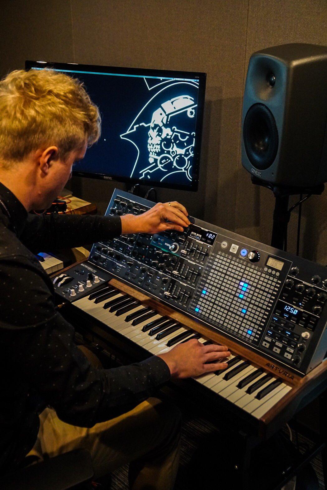Ludvig Forssell a reçu un « nouveau jouet » pour travailler sur la musique de Death Stranding, le 8 mai 2017