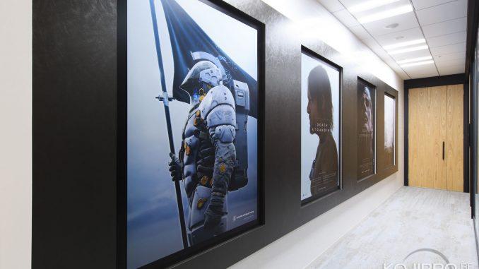 Couloir de Kojima Productions