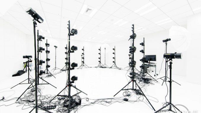 Salle de scanning 3D de Kojima Productions