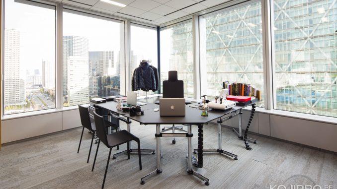 Le bureau de Hideo Kojima