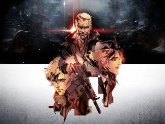 Artwork signé Yoji Shinkawa pour Left Alive de Square Enix