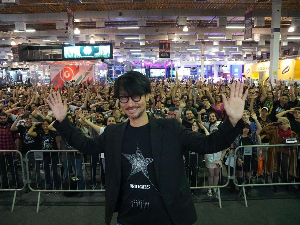 Hideo Kojima au Brasil Game Show, le 12 octobre 2017