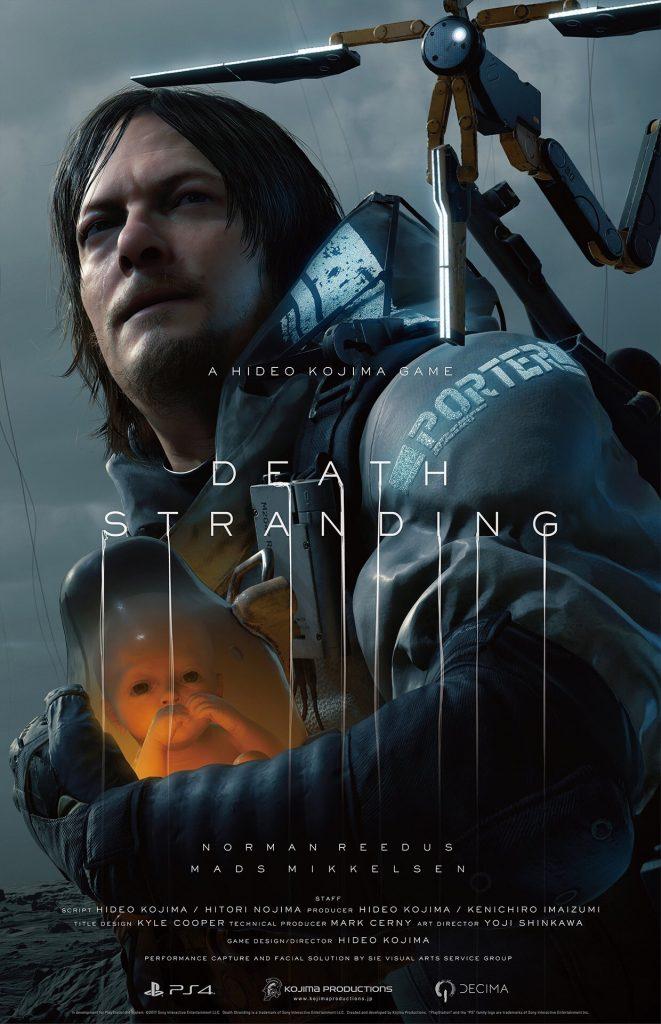 Affiche de Death Stranding – TGA 2017, le 7 décembre 2017
