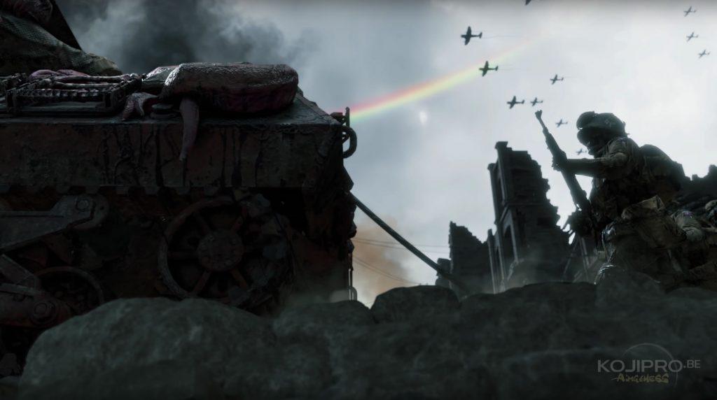 Les soldats squelettes dans le deuxième trailer de Death Stranding (1er décembre 2016).