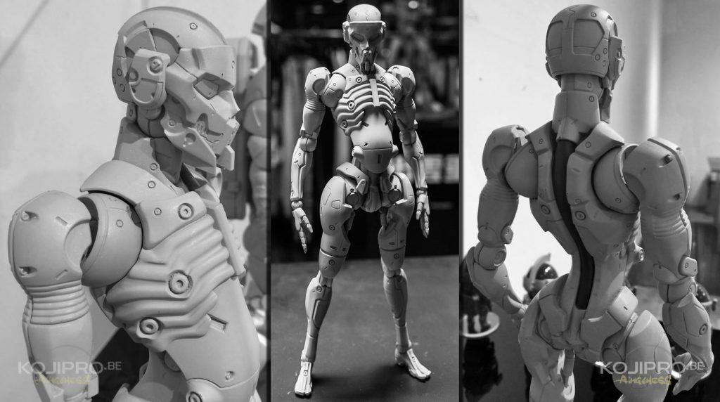 La figurine de Yoji Shinkawa présentée le 21 juillet 2016.