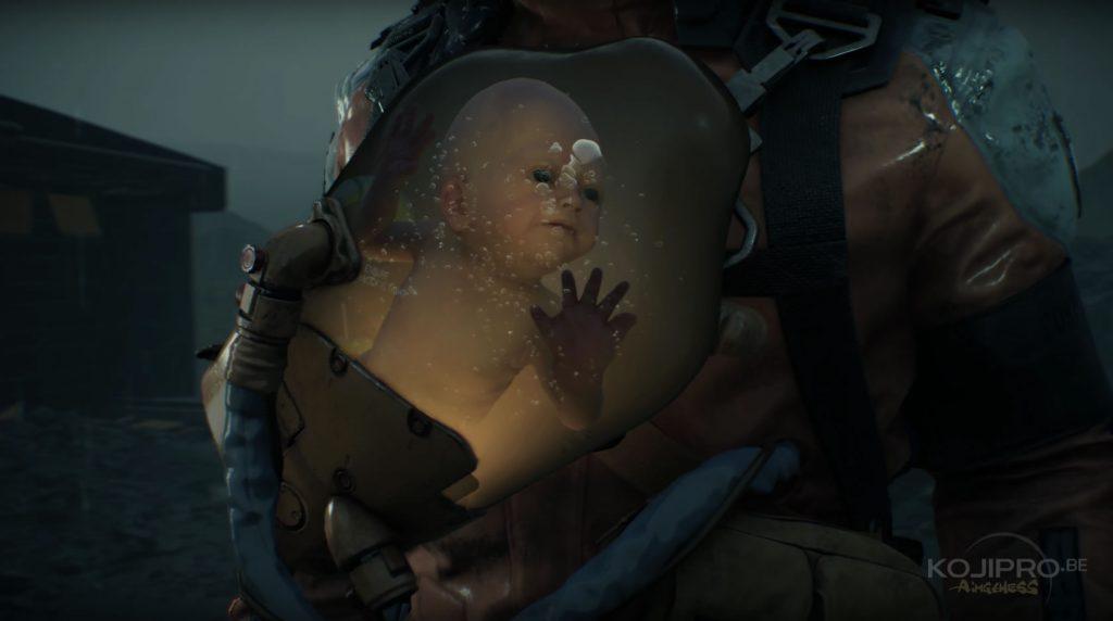 Le bébé apparaît pour la première fois dans la capsule du « troisième homme ».