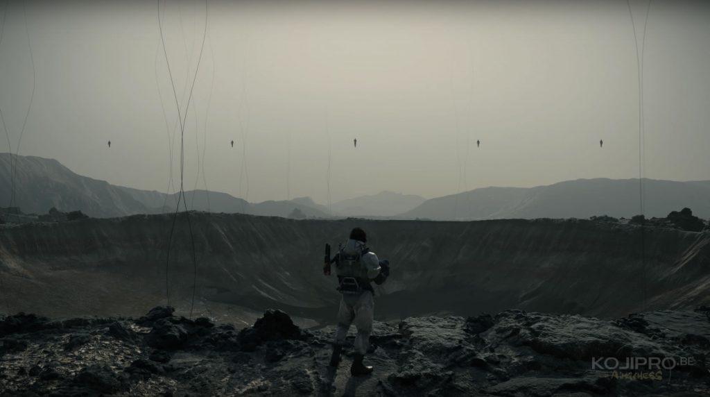 Image extraite du troisième trailer de Death Stranding, dévoilé le 7 décembre 2017.