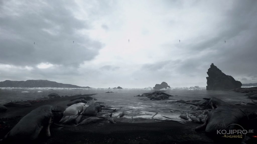 Image extraite du premier trailer de Death Stranding, dévoilé le 13 juin 2016.