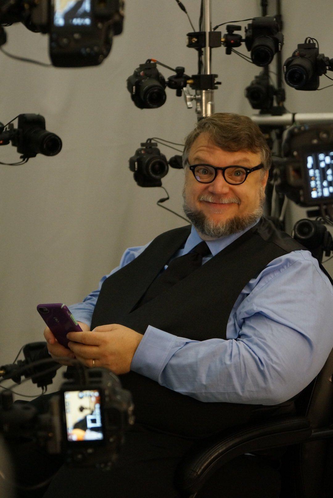 Guillermo del Toro en studio 3D scanning pour Death Stranding