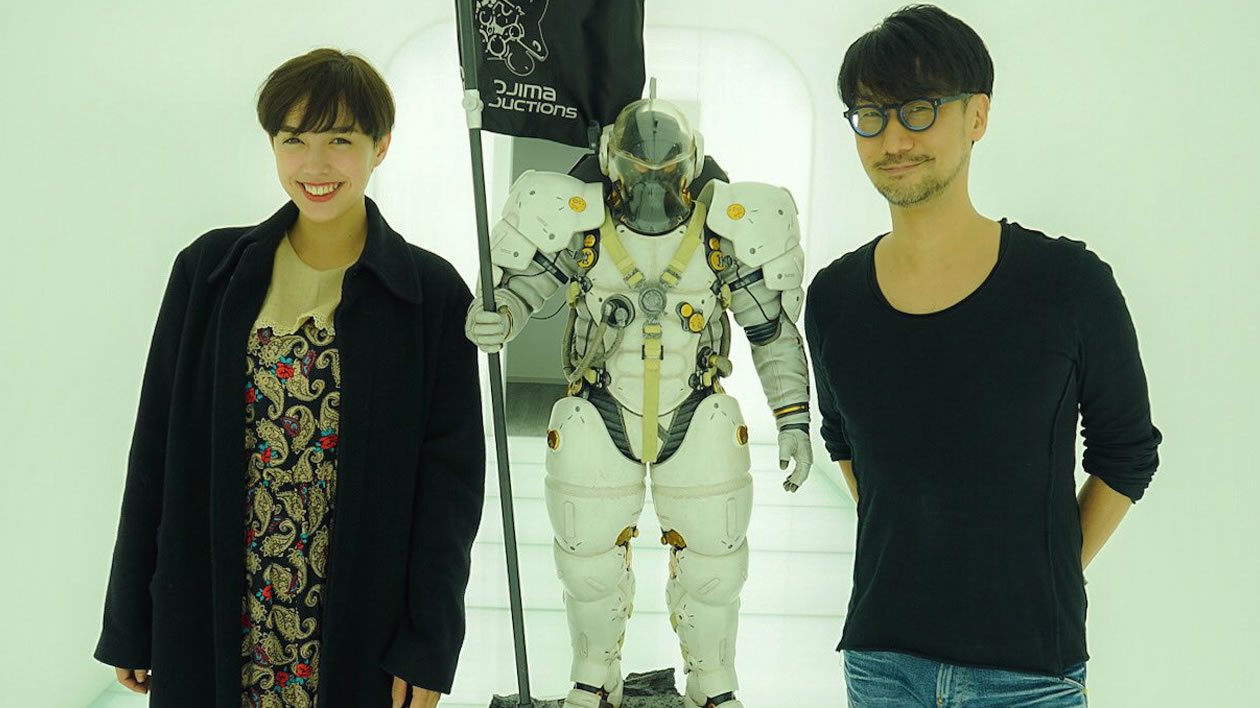 Morgan Mala, Ludens et Hideo Kojima, le 27 octobre 2017