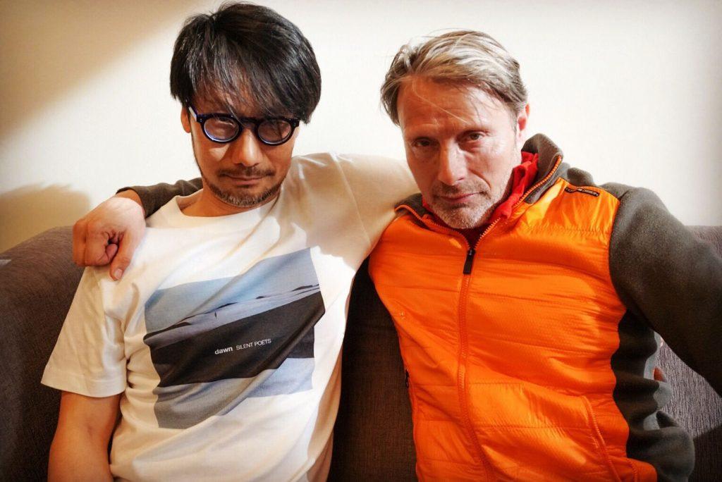 Hideo Kojima et Mads Mikkelsen, le 12 avril 2018