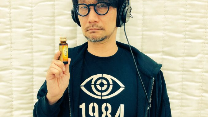 Hideo Kojima et ses vitamines - Performance capture de Death Stranding, le 11 avril 2018