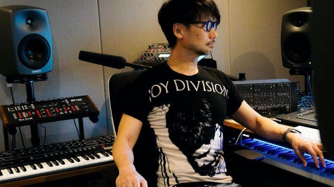 Hideo Kojima travaillant sur le montage du nouveau trailer de Death Stranding, le 18 mai 2018
