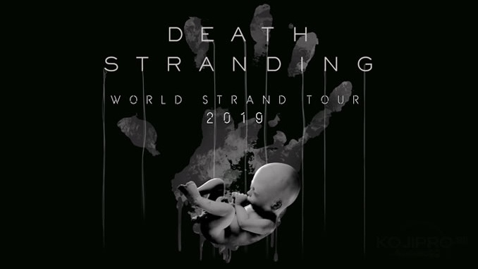 Hideo Kojima à Paris le 30 octobre pour le Death Stranding World Strand Tour 2019